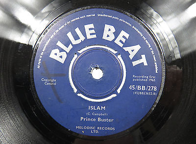 BLUE BEAT - ISLAM - PRINCE BUSTER ......EX condition
