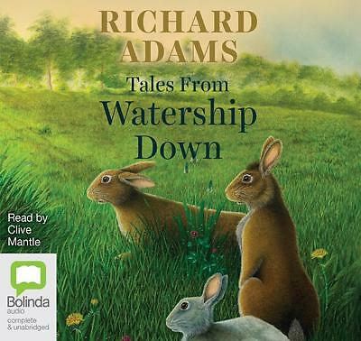 NEW Tales from Watership Down By Richard Adams Audio CD Free Shipping