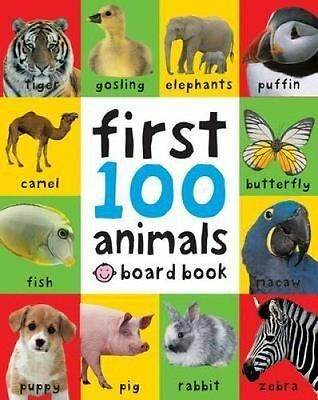 First 100 Animals by Roger Priddy 9781849154215 (Board book, 2011)