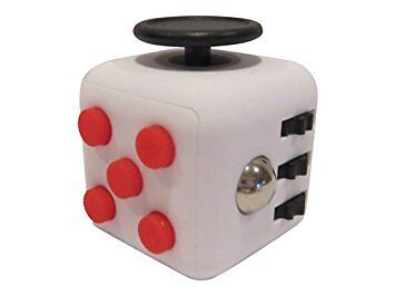 Fidget Cube Cubes Anxiety Stress Relief Better Focus Toy Canada White Red