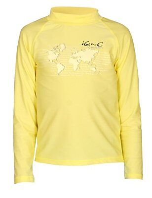 Giallo (Yellow) (TG. 152 cm) iQ UV 300 Shirt Youngster maniche lunghe, protezion