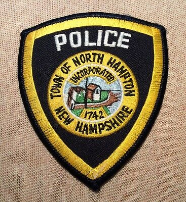NH North Hampton New Hampshire Police Patch