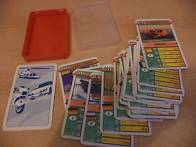 Old Vintage Top Trumps Playing Cards Card Game Motorbikes