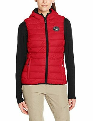 Rosso (Red) (TG. IT 46 (DE 40)) Geographical Norway Viva Vest Lady, T-Shirt Donn