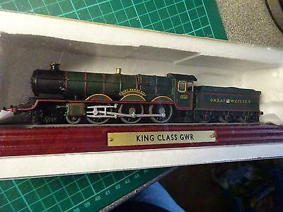 TRAIN KING CLASS GWR Atlas Edition On Plinth Never Been Out Of Box