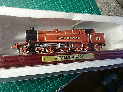 TRAIN REMEMBRANCE Atlas Edition On Plinth Never Been Out Of Box