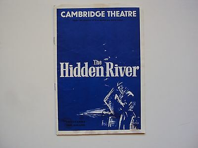 50's Drama Cambridge Theatre 1959 Hidden River Ruth Goetz John Dexter Leo Genn
