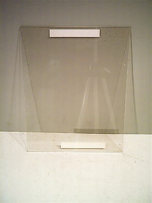 """New, 11"""" x 14"""", Clear Plastic Flat SIGN / PICTURE HOLDER for Wall or Counter"""