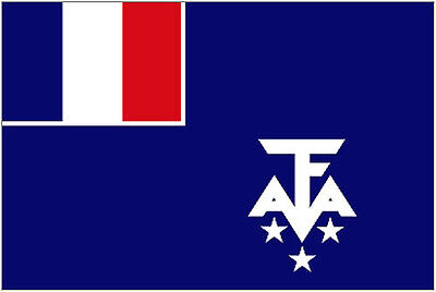 FRENCH SOUTHERN and ANTARCTIC LANDS FLAG 5' x 3' Antartic Flags France