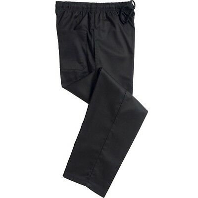 Black Chef Trousers