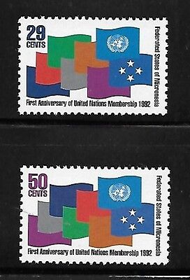 Micronesia 1992 Admission to the UN First anniversary MNH A337