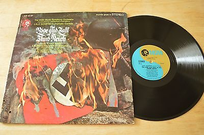 Lalo Schifrin Rise And Fall Of The Third Reich Vinyl Record LP S1E-12ST GF 1966