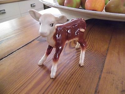 Beswick Hereford Calf No 901B Early & Rare stands 9.5cm tall