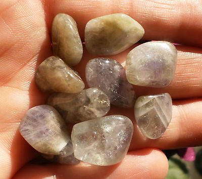 AMEGREEN Tumbled Stones Lot of 3 SM Small Wiccan Witch Spells Stones