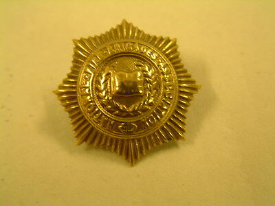 National Fire Brigades Association Cap badge