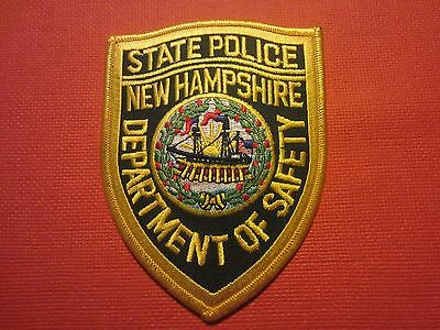 Collectible New Hampshire State Police Patch New