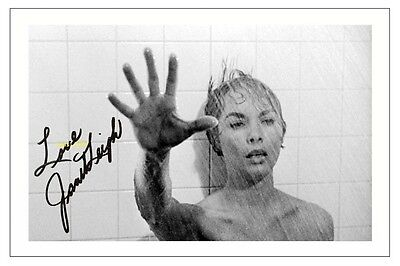 4x6 SIGNED AUTOGRAPH PHOTO PRINT OF JANET LEIGH PSYCHO #42