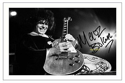 4x6 SIGNED AUTOGRAPH PHOTO PRINT OF MARC BOLAN #42