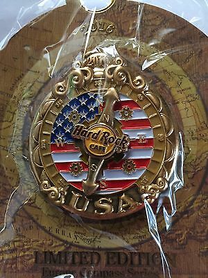 Hard Rock Cafe Compass series USA pin - LE