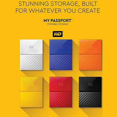 Disques durs externe 1To WD Western Digital My Passport Ultra 1TB USB3.0 HDD