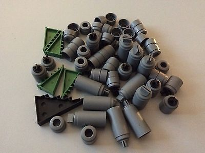 Large Lot Of Vintage Scalextric Classic & Sport Pillar & Wedged Track Supports