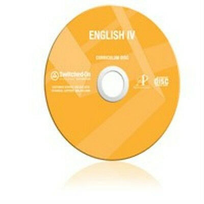 12th Grade SOS Language Arts Homeschool Curriculum CD Switched on Schoolhouse 12