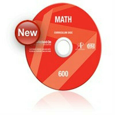 6th Grade SOS Math Homeschool Curriculum CD Switched on Schoolhouse 6