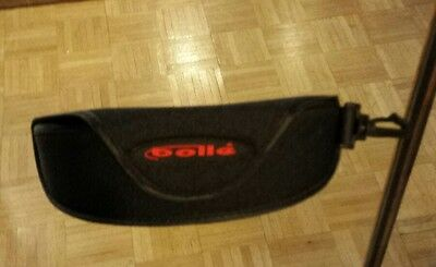 Bolle BLACK Sunglasses Case W Clip - NEW