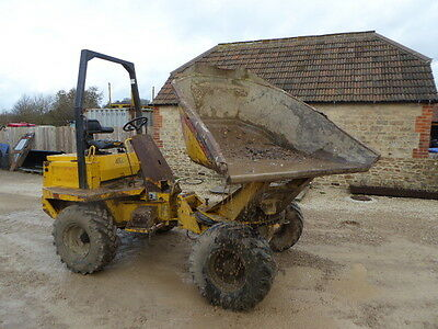 Thwaites 3 Ton Swival Skip Dumper High Tip Year 2000 Works With Your Digger