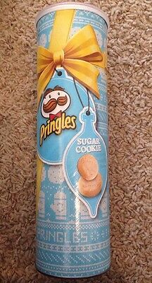 Pringles Sugar Cookie Limited Edition 5.96 oz New Winter 2016 Potato Crisps