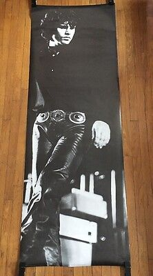 Jim Morrison Vintage Poster The Doors Pin-up Music Memorabilia Leather Pants 80s