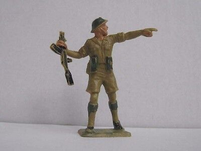 1 x CHERILEA WWII BRITISH 8th ARMY 60mm TOY SOLDIER to clear ....