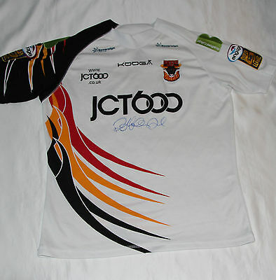 Henry Paul Signed Bradford Bulls Rugby League Shirt with COA