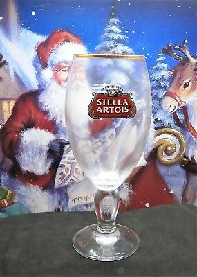 Stella Artois Chalice PINT Glass Brand New 100% Gen Nucleated CE Marked