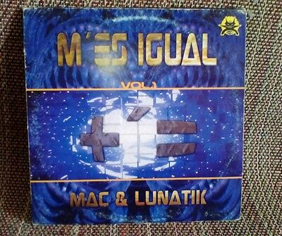 "Mac & Lunatik Presents +´=* - M'es Igual Vol.1 makina hard trance 12"" Uptempo"
