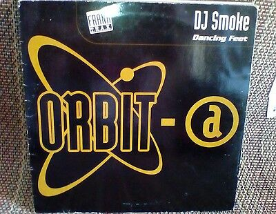DJ Smoke ‎– Dancing Feet Orbit-A Hard Trance 1998