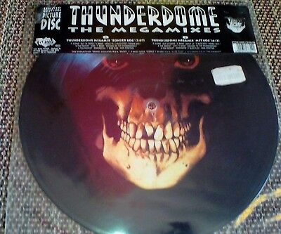 The Dreamteam – Thunderdome - The Megamixes Vinyl, 12  Limited Edition, Picture