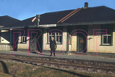 Newfoundland Railway Station at harbour Grace, NL in 1947 - 8x10 Photo