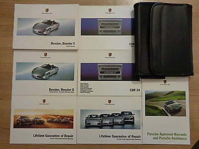 Porsche Boxster/Boxster S Owners Handbook/Manual and Pack 04-08