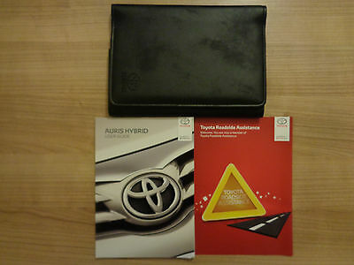 Toyota Auris Hybrid Owners Handbook/Manual and Wallet 15-17