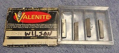Valenite       Carbide  Inserts     Vdb-156-A-015  Grade  Vc-24     Pack Of 4