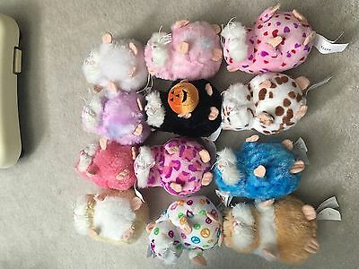 Webkinz Mazin Hamsters Amazing No Codes Lot Of 12 First Edition