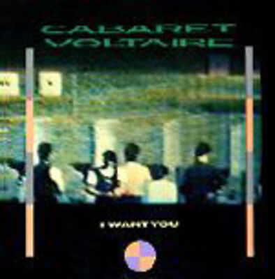 Cabaret Voltaire I Want You Vinyl Single 12inch Virgin