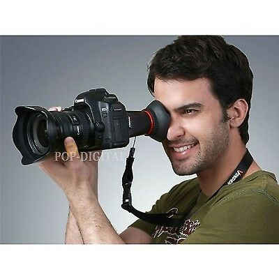 2.8X LCD Viewfinder Extender LCDVF View finder Displaylupe magnifier for Cano...