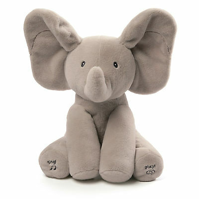 Brand New Animated Flappy the Elephant by Gund Baby Gift Item # 4043012