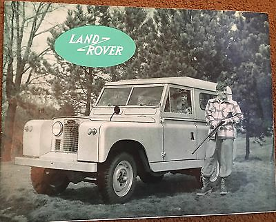 Land Rover Early  original brochure Series   1 2 a  / 573 NA ?