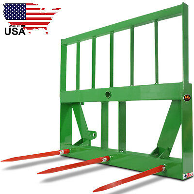HD Frame Attachment, Head Rack, 3 Hay Stabilizer Spears Global Euro Loader