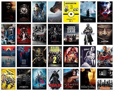 2017 Best Movie Film Cinema Wall Deco A3 A4 Poster Options Print Buy1Ger2Free