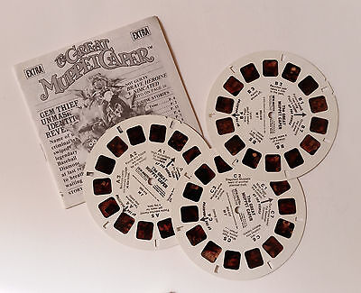 Viewmaster - Jim Henson's The Great Muppet Caper - 3 Reels and Booklet