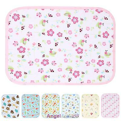 Baby Changing Mat Cover Diaper Nappy Infant Change Pad Waterproof Cartoon New